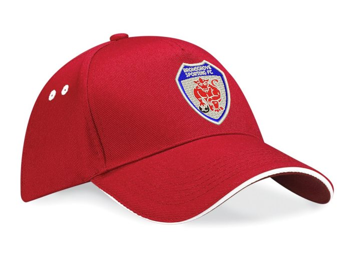 Sandwich Peak Cap with Club logo embroidered
