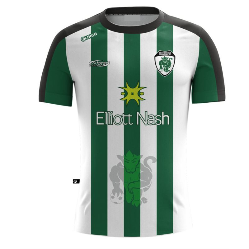 Away replica jersey for 2020/21 season. Short sleeve design in sports polyester performance fabric, all logos printed into the material. Striking design available in full range of sizes from kids to adults.