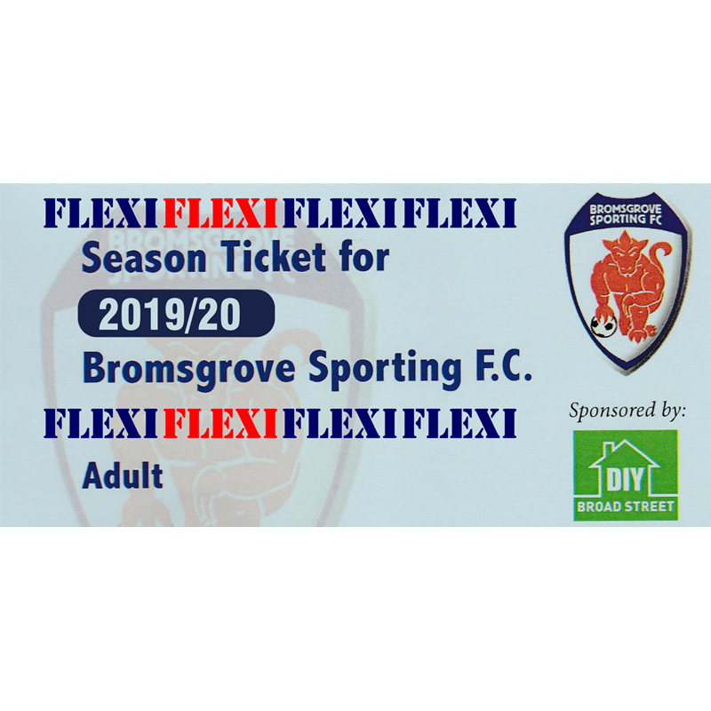Flexi  Season Ticket for Adults