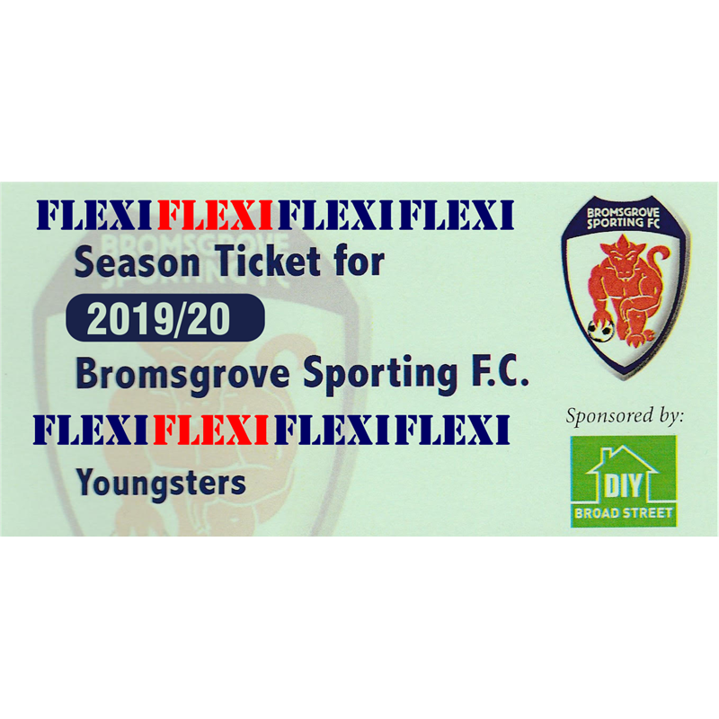 Flexi  Season Ticket for Youths - 12 to 17 Year Olds