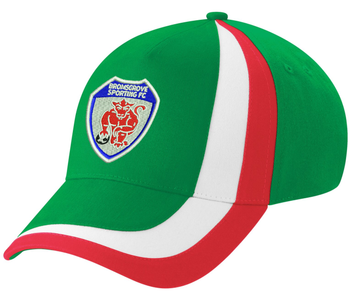 Contrast Sports Cap with Club Logo embroidered front